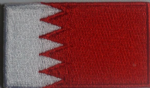 Bahrain Embroidered Flag Patch, style 04